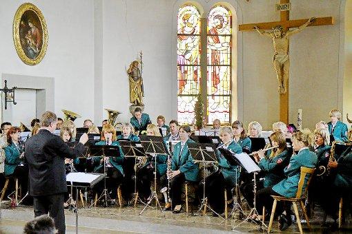Kirche St. Silvester mit klassischen und modernen Klängen. Foto: Renz, Foto: Schwarzwälder-Bote