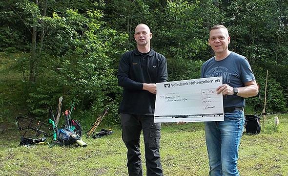 Schützenverein Heiligenzimmern spendet wiederholt an Nina-Leopold-Stiftung