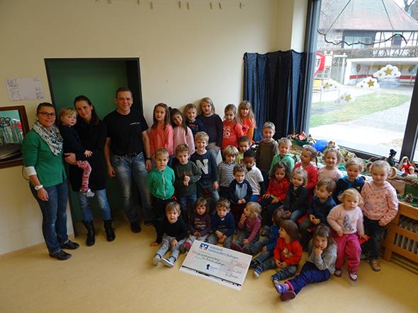 Spende der kath. Kindertageseinrichtung St. Michael, Lautlingen