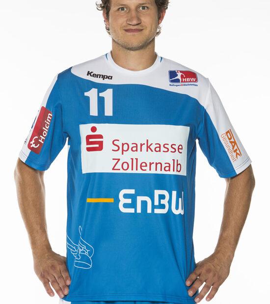 Spielführer des Handball Bundesligisten HBW Balingen-Weilstetten Wolfgang Strobel