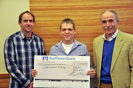Spendenübergabe des TSV Bickelsberg